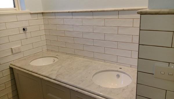 Marble Top Bathroom