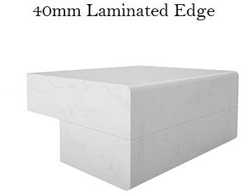 40mm Laminated Edge