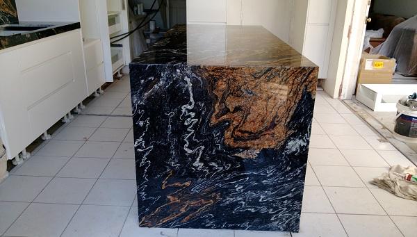 Black Granite Benchtop