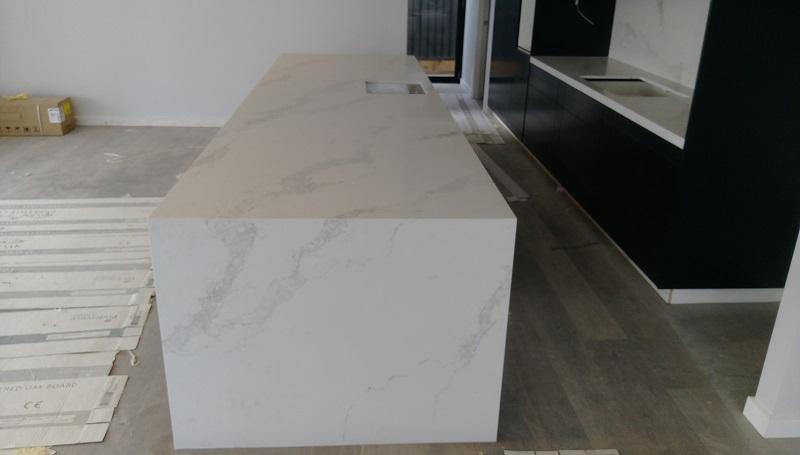 Kitchen White Marble Splashback