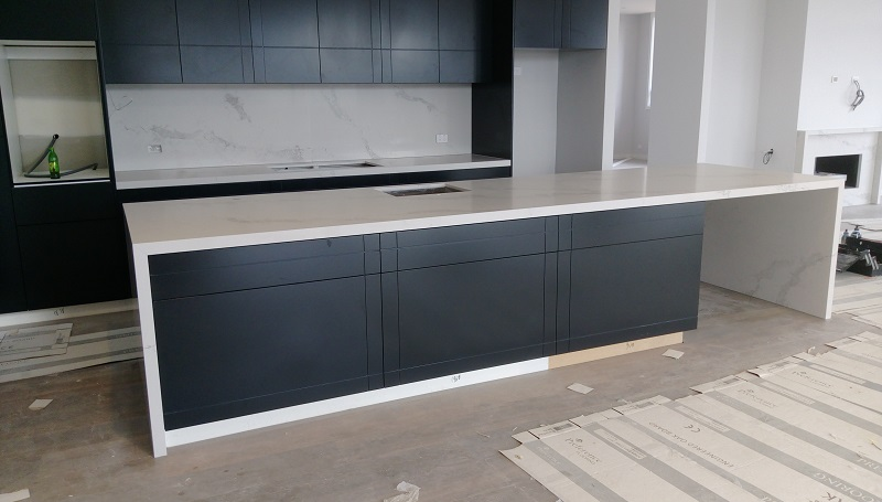 Black Granite Kitchen Benchtop