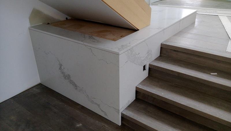 White Marble Staircase